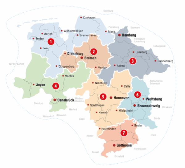 Lokal ausspielen Regionales Targeting